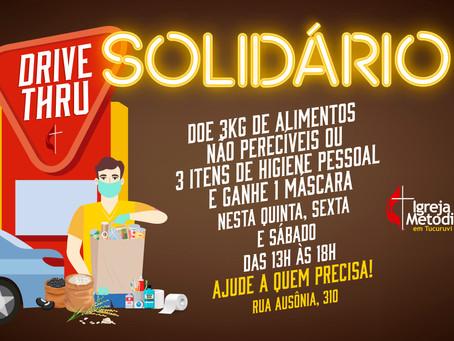 Drive Thru Solidário em Tucuruvi