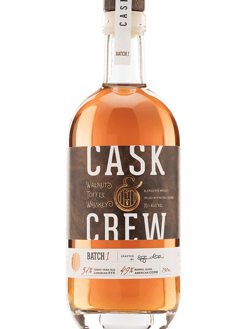 Cask & Crew Walnut Honey Whiskey