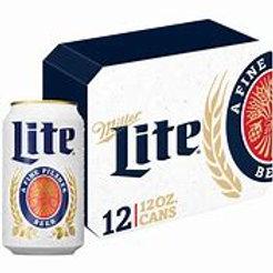 Miller Lite 12 pk Cans