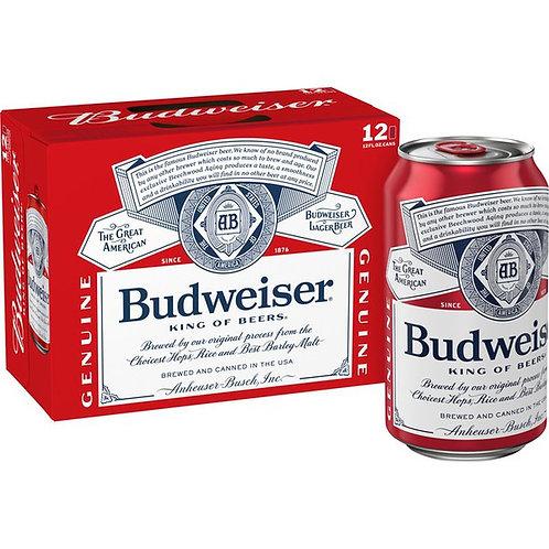 Budweiser  Cans 12 pk