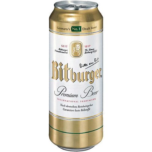 Bitburger Premium Lager Cans 4 pk