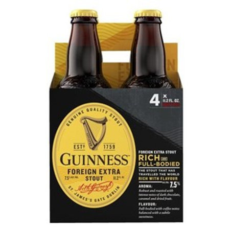 GUINESS FOREIGN EXTRA STOUT