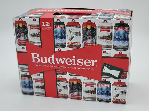 BUDWEISER 2020 LIMITED EDITION HOLIDAY STEIN DESIGNS
