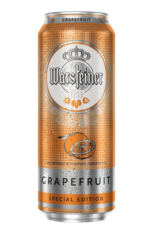 WARSTEINER GRAPEFRUIT CANS