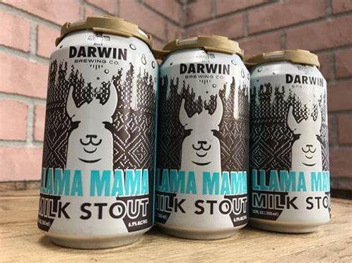 DARWIN BREWING CO. - LLAMA MAMA MILK STOUT