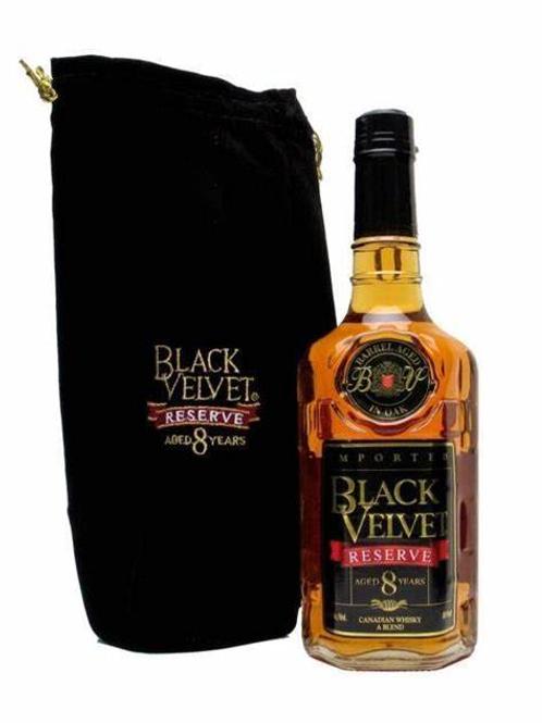 BLACK VELVET RESERVE 8-YEAR AGED WHISKY