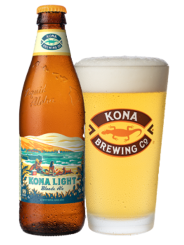 KONA BREWING CO. - LIGHT BLONDE ALE