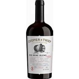 COOPER AND THIEF BOURBON BARREL RED BLEND