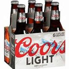 Coors Light 6 pk Bottles