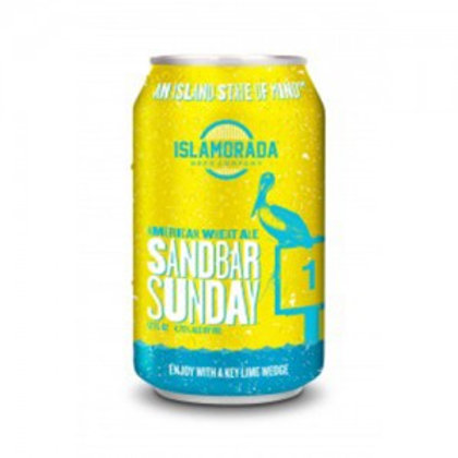 ISLAMORADA BEER CO SANDBAR SUNDAY CANS