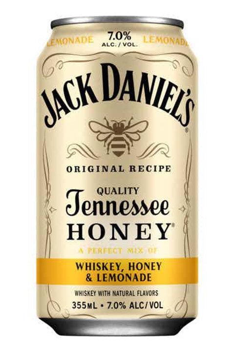 Jack Daniels Can Cocktails-Whiskey, Honey & Lemonade