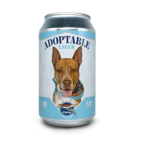 MOTORWORKS BREWING CO. APOPTABLE LAGER