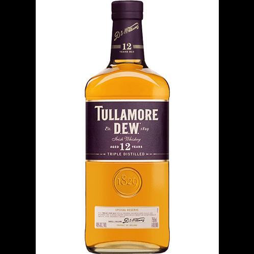 TULLAMORE DEW IRISH WHISKEY 12 YR