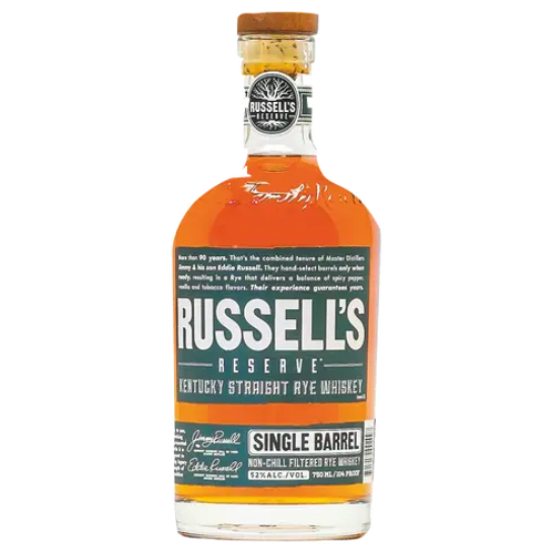 Russel's Reserve Rye Whiskey