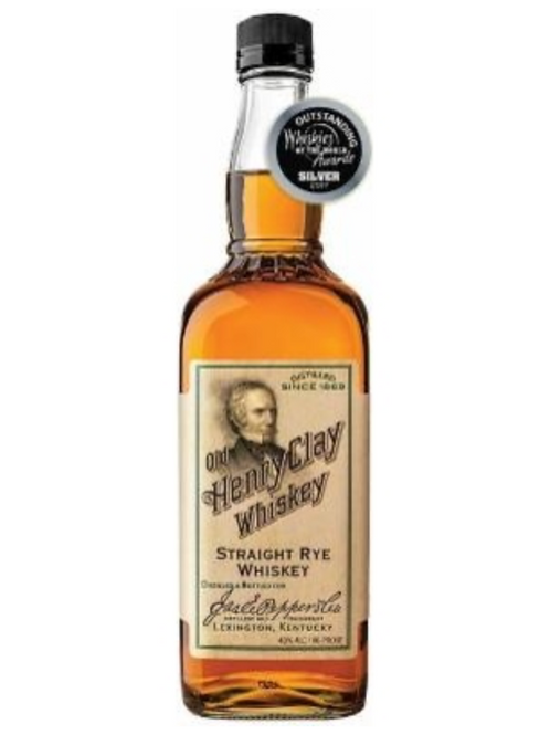 Old Henry Clay Straight Rye Whiskey