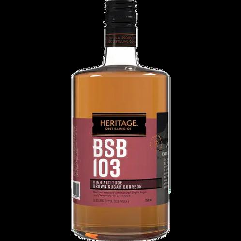 Heritage 103 Proof High Altitude Brown Sugar Bourbon