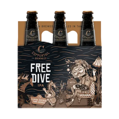 COPPERTAIL BREWING - FREE DIVE AMERICAN IPA