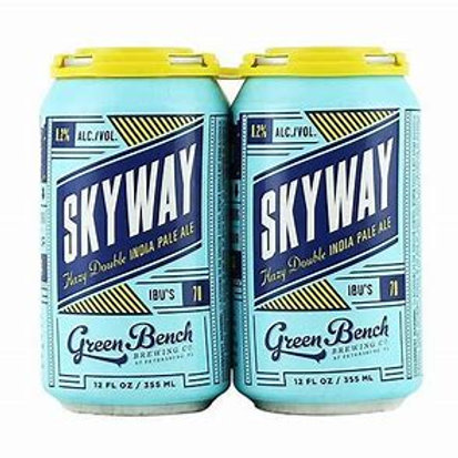 GREEN BENCH BREWING SKYWAY HAZY DBL IPA