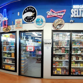 VISIT OUR ICE COLD BEER CAVE!