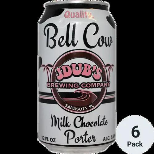 JDUBS BREWING CO. BELL COW MILK CHOCOLATE PORTER