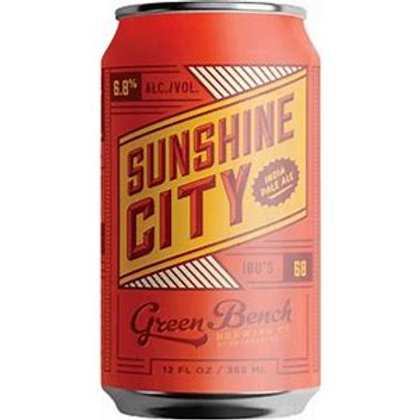 GREEN BENCH BREWING SUNSHINE CITY IPA