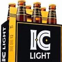 Iron City Light 6 pk Bottles