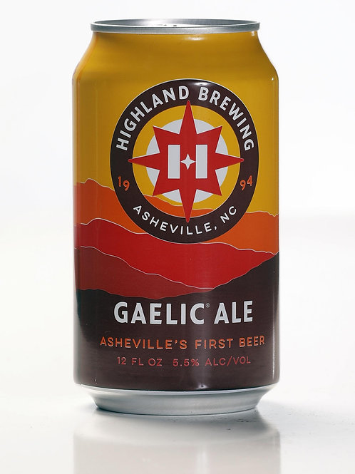 HIGHLAND GAELIC AMBER/RED ALE CANS