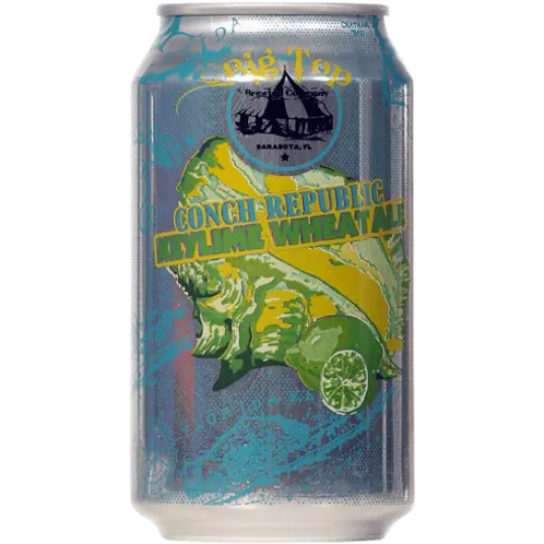 BIG TOP BREWING CO. CONCH REPUBLIC KEY LIME WHEAT ALE