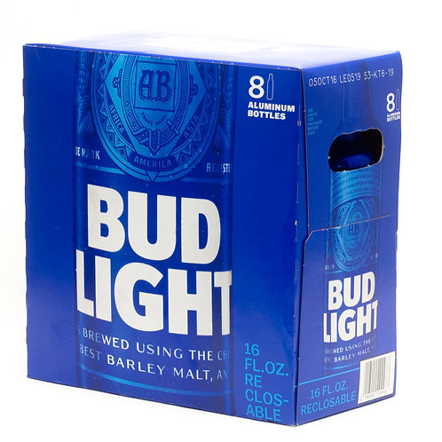 Bud Light 8 pk Cans 16 oz