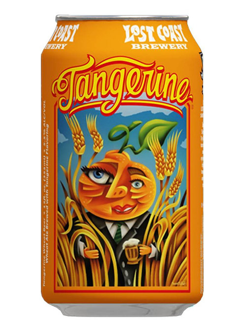 LOST COAST TANGERINE ALE CANS