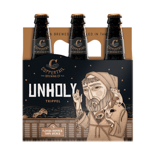COPPERTAIL BREWING UNHOLY TRIPPEL