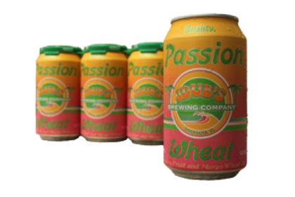 JDUBS BREWING CO. PASSION WHEAT ALE