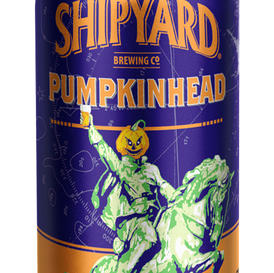 SHIPYARD BREWING CO. PUMPKINHEAD ALE