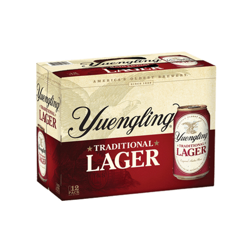YUENGLING LAGER CANS
