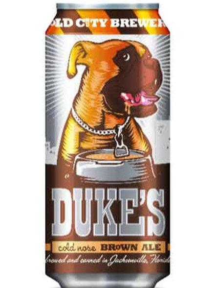 DUKE'S COLD NOSE