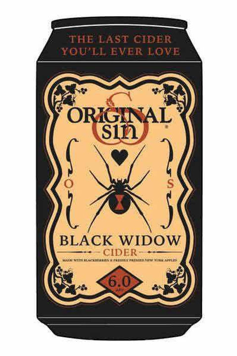 BLACK WIDOW ORIGINAL SIN CIDER BEER