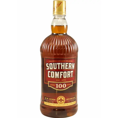 SOUTHERN COMFORT 100 PROOF  BOURBON