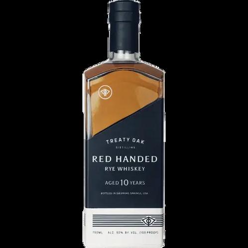 TREATY OAK RED HANDED RYE BOURBON