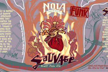 NEW ORLEANS BREWING SAUVAGE BRETT PALE ALE