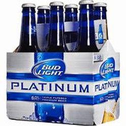 Bud Light Platinum 6 pk Bottle