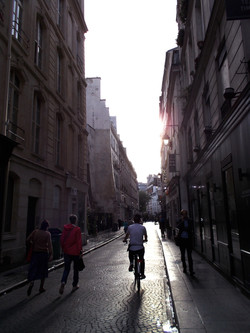 Pink light of Paris