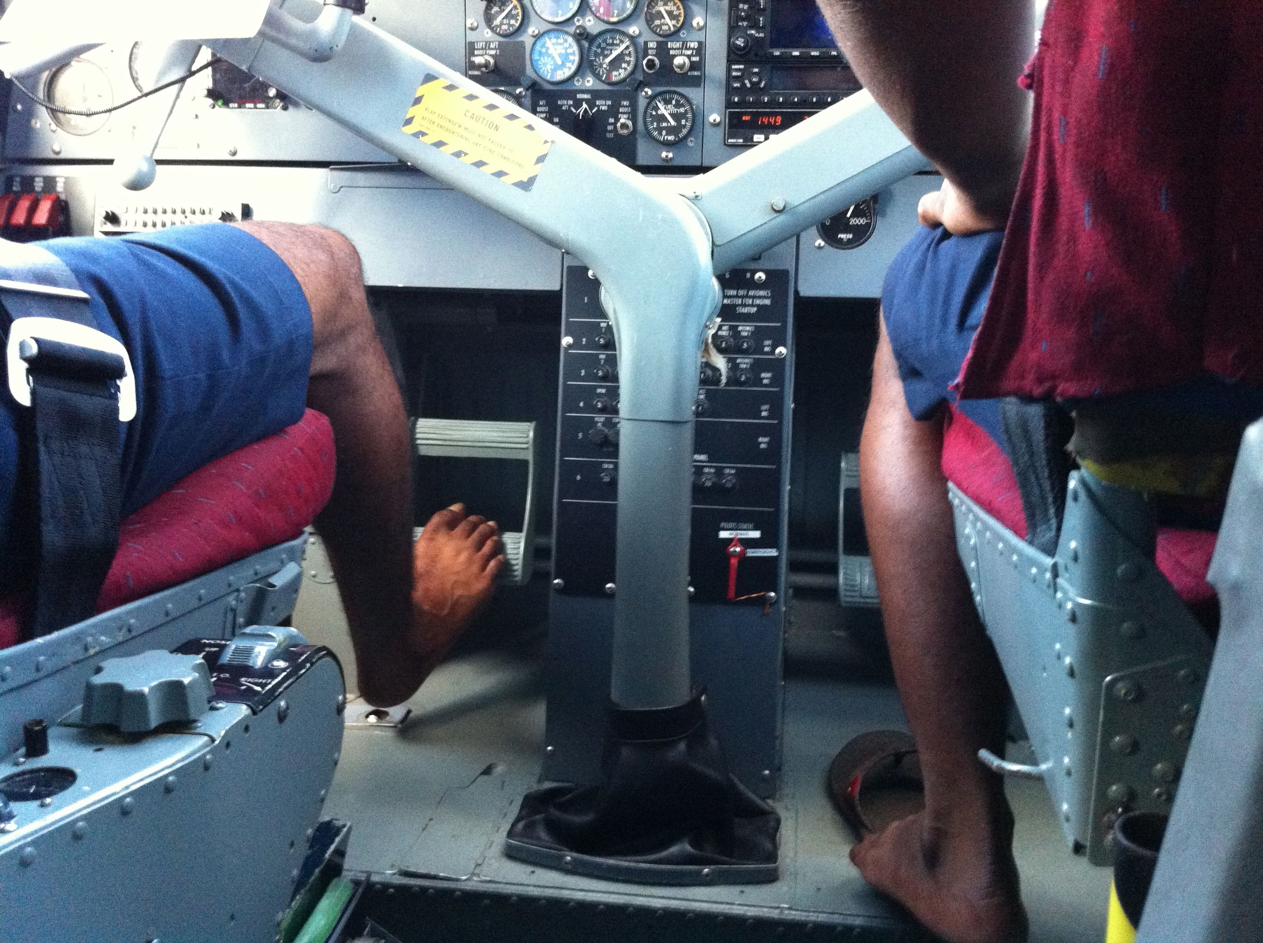 Sea Plane to Maldive Islands