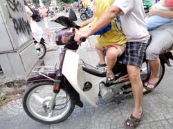 Family Scooter: Ho Chi Min City, Vietnam