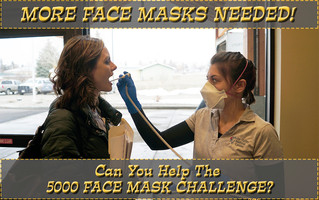 Join the 5000 Face Mask Challenge!