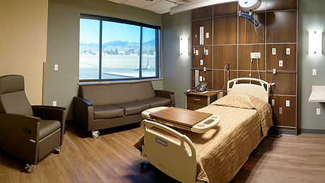 RVMC In-Patient Room