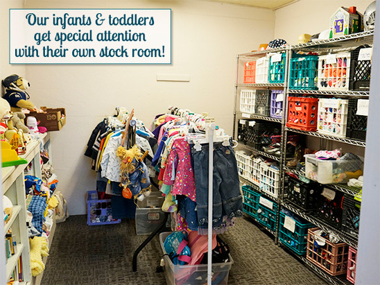 Infants & toddlers clothing and accessories