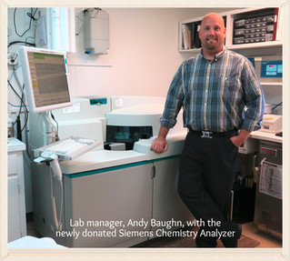 The Ruby Valley Hospital Introduces New Lab Manager and Unveils New Lab Equipment