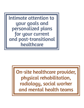 RVMC Transitional Care - Goals
