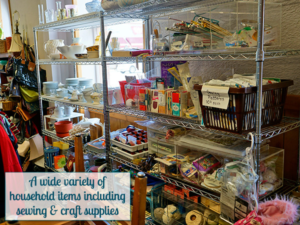 Household items including sewing & craft supplies