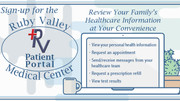 Ruby Valley Medical Center Opens the Patient Portal